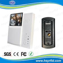 3.5 inch hands-free color screen commax intercom building video door phone
