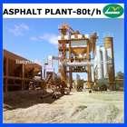 LB1000 asphalt mixing machine for road construction 80t/h