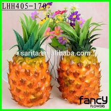 Decorative wholesale artificial fruit fake pineapple