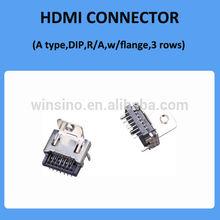 China Manufacture 19P 3 Row Media Port HDMI