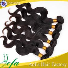 Natural black no shedding unprocessed virgin wholesale brazilian hair