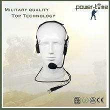 Cancelamento de ruído indiano uniformes do exército fone de ouvido para ações e táticas especiais PTE-580
