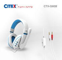 Fone de ouvido frame / jogo fones de ouvido com cabeça confortável