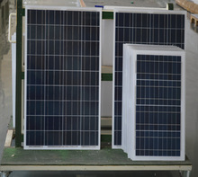 New design best quality professional manufacturer 130W polycrystalline solar panel
