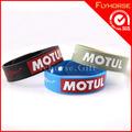 2014 baratos de moda de promoción de silicona personalizadas brazaletes y pulseras
