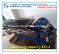 Laboratório de mesa balançando o equipamento, placer equipamentos de mineração, mini mesa vibratória para uso em laboratório