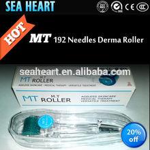 Stainless steel/ tatinium skin rejuvenation MT 192 microneedle roller