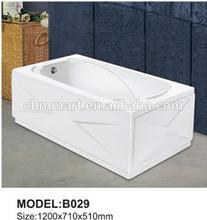 square bathtub/walk in bathtub/small bathtub sizes