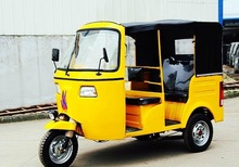 china bajaj tuk tuk larger size petrol rickshaw for passenger