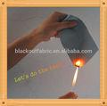 retardante de fuego tela blackout para persianas y cortinas