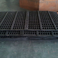 Rubber screen mesh for mining industrial sieve equipment