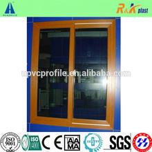 80 series laminated PVC sliding window