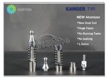 bottom dual coil producing more vapour - new Kanger T3D