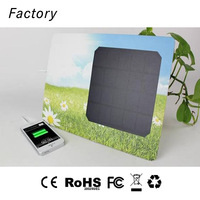 Special solar chargers for parade activities and new product