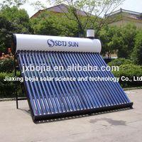 2014 vacuum tube sunshine water heater, sun power water heater for shower