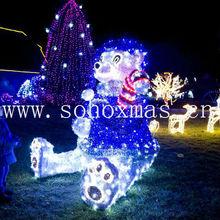 Garden & outdoor waterproof LED lights lawn animal christmas decoration