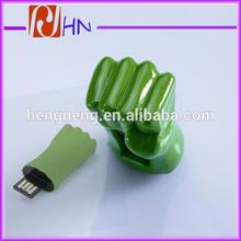 The avengers USB flash drive The Hulk USB flash drive fist USB