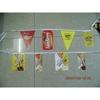 Custom 2014 Popular Plastic Bunting Flags