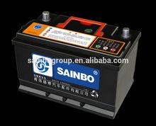 Durable 12v car battery 56638 12V66AH for sale