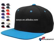 Custom Design Made Flat Brim Snapback Hats And Caps No Logo No Minimum Wholesale Paypal Free Shipping