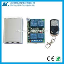 RF multi 4CH 433.92mhz wireless switches KL-K400C