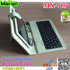 mapan 7'' mini pocket pc android google tablet with tablet case and keyboard