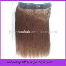 Wholesale Cheap 100% Virgin Remy Brazilian Human Flip In Hair Extension