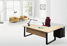 2014 hot sale simple design wooden executive L shaped office desk
