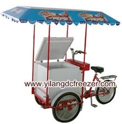 Solar Ice Cream Bike With Solar Freezer From 68L To 358L