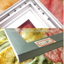 new design weldng process gapless aluminum led panel frame
