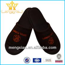 white luxury velour house slippers for guests custom shaped slipper