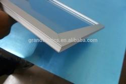 high quality 300x600 gapless welding led aluminum panel light frame