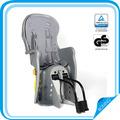 confortável baby bicicleta rack traseiro seat