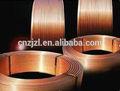 Los tubos de cobre para aire acondicionado: interior de tubo de cobre estriado, tubo capilar, tubo suave