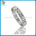 permanente pulseira jóias em aço inoxidável jóia de aço cirúrgico china fábrica 316l jóia do aço inoxidável