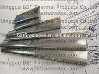 Aluminum-coated glass fiber heat reflective protective sleeving