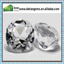AAAA quality white color rough cubic zirconia