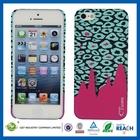 New design practical wholesale custom hard plastic cases for iphone 5c