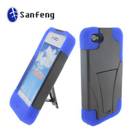 11 years experience Chinese factory wholesale cover case for iphone 4 mobile shell;high quality impact for iphone 4 stander case