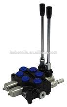 40LPM monoblock control valve ZD-L102 series for wagon mix, hydraulic monoblock directional control valve