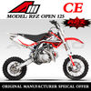 China Apollo ORION New Mini Cross 125CC DIRT BIKE Pit Bike RFZ 125 OPEN CE Approved