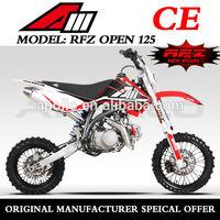 China Apollo ORION Mini Cross 125CC CE DIRT BIKE Pit Bike RFZ 125 OPEN For Sale