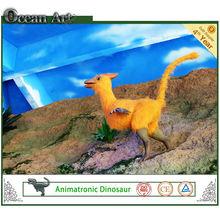 amusement park life - size the simulation dinosaur