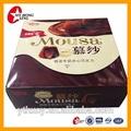 baratos descartáveis de alta qualidade cartão de chocolate caixa de embalagem
