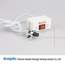 Cross laser light for sewing machine