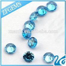 afghanistan not yellowish for waxing aquamarine round 5mm ziconium stone