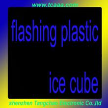 led ice cube light/flashing led ice cube with lighting/led ice cube bucket