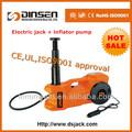 Dc 12v, mini eléctrico de la máquina hidráulica gato del coche, 1.2t, gato de la cc
