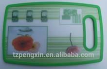 kitchen plastic cutting board/chopping board/chopping block