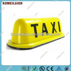 New LED 12V Car Taxi Cab Roof Top Sign Light Lamp Magnetic Yellow Z1
